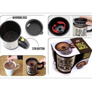 Cana termos inteligenta cu amestecare automata, Self Stirring Mug, alimentare baterii, BRT-1.5 [2]
