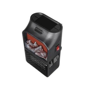 Mini radiator de priza cu telecomanda, Quick & Easy Heat , putere 500 W , ventilator integrat ,Premium Quality , negru [2]