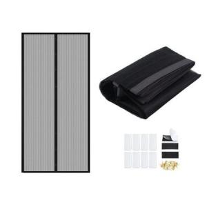Plasa Usa cu Inchidere Magnetica Magic Mesh pentru Tantari, Muste sau Alte Insecte, Dimensiuni 190*100 cm [1]