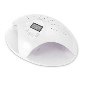 Lampa Dubla LED UV Profesionala SUN 669 pentru Manichiura 48W cu Timer si Senzor Inteligent, Alb [0]