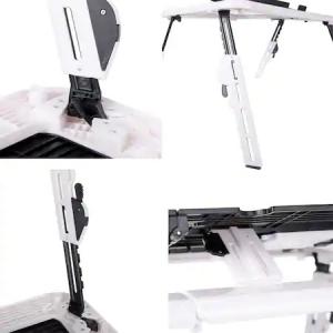 Masuta de laptop multifunctionala e-table , suport usb [3]