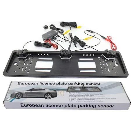Suport numar auto cu camera si senzori de parcare pentru marsarier [2]