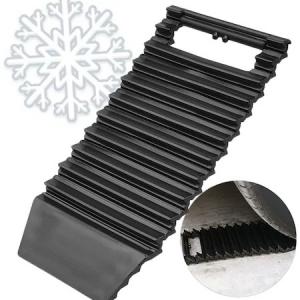Banda auto antiderapanta si racleta curatare parbriz, 2 in 1, negru [0]