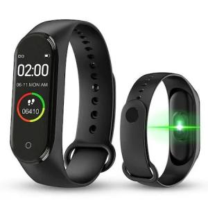 Bratara fitness , M4 Plus, Fit Pro,ecran color HD, ritm cardiac, puls, pasi, distanta, calorii, apeluri, notificari facebook, whatsapp ,sms [1]