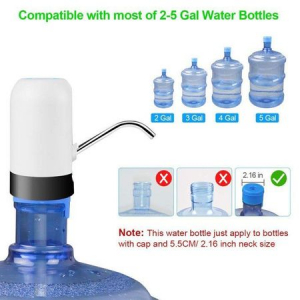 Pompa pentru bidon electrica, dozator, dispenser apa de baut, uz casnic [3]
