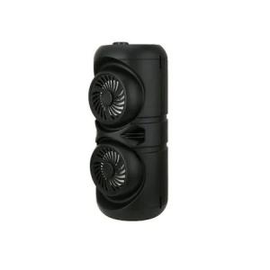 Boxa Activa Portabila Bluetooth, ZQS-4221, 12 W, USB, TF/SD Card, Aux, Radio FM, Telecomanda si Lumini, Negru [1]