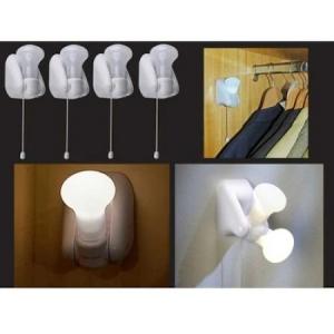 Set 4 Becuri cu LED-uri Economice, Fara Cablu, Handy Bulb [2]