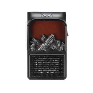Mini radiator de priza cu telecomanda, Quick & Easy Heat , putere 500 W , ventilator integrat ,Premium Quality , negru [3]