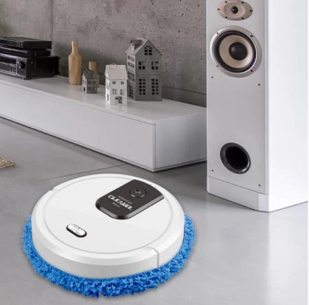 Robot inteligent Mop Cleaner 3 in 1, Rosu [6]