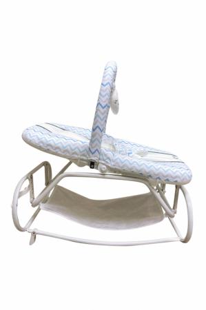 Scaun Balansoar bebeusi Ay Baby Albastru [2]