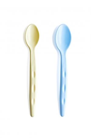 Set 2 lingurite pentru copii BabyJem Blue/Yellow [0]
