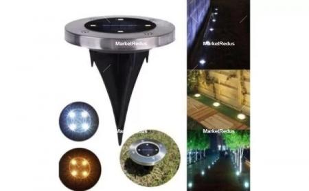 Set de 4 lămpi solare 4LED Disk Lights [2]