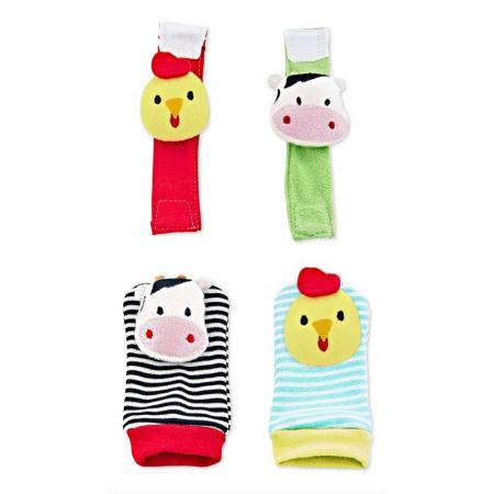 Set jucarii haioase pentru manute si picioruse Happy Animals [0]