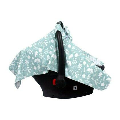 SeviBebe - Accesoriu scaun auto Husa protectie Leaf verde [2]