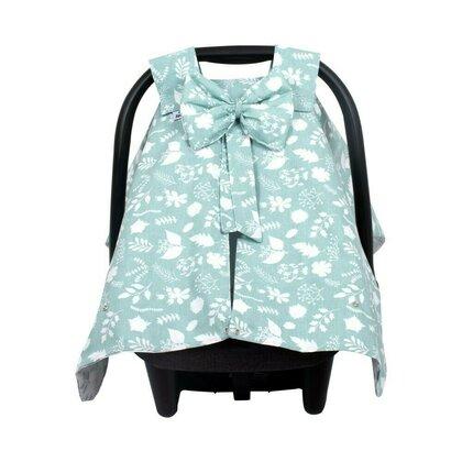 SeviBebe - Accesoriu scaun auto Husa protectie Leaf verde [0]