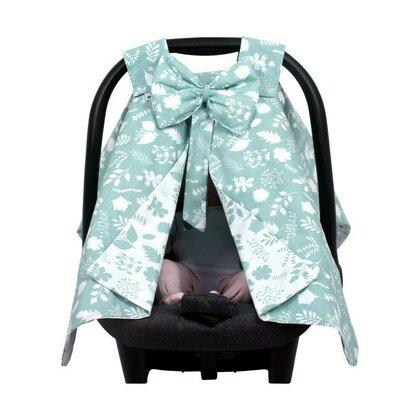 SeviBebe - Accesoriu scaun auto Husa protectie Leaf verde [1]