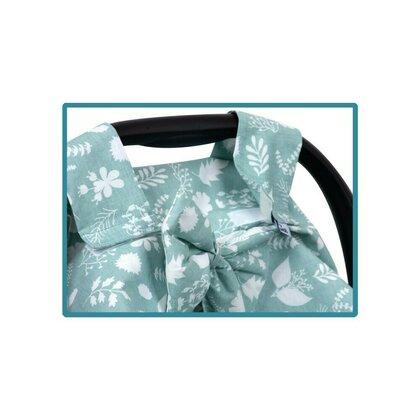 SeviBebe - Accesoriu scaun auto Husa protectie Leaf verde [3]