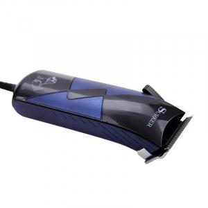 Aparat de tuns animale Surker SK 711, putere 10 W, lama otel inoxidabil, accesorii incluse, Albastru/Negru [1]