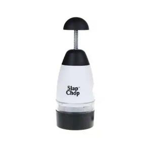 Tocator fructe/legume Slap Chop, alb/Negru [2]