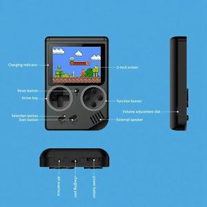 Consola de jocuri video, portabila, Retro Mini Gameboy 400 in 1 [3]