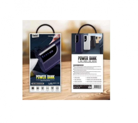 Baterie externa Powerbank Fast Charging 20000mAh Albastru [0]