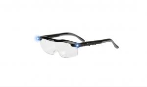 Ochelari cu lupa si LED Mighty Sight, marire 160%, reincarcabili, unisex [0]