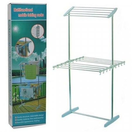 Uscator pliabil pentru rufe Multifunctional Mobile Folding Racks [1]
