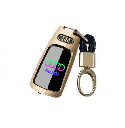 Bricheta electrica aspect tip AUDI , antivant, reincarcabila USB, metalica [0]