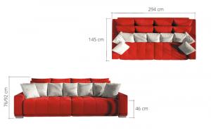 Canapea extensibila CLOUD2