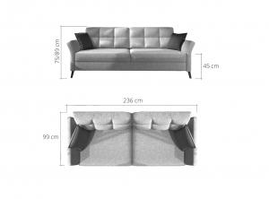 Canapea extensibila FUEGO2