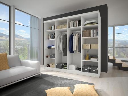Mobila dormitor LUCCA/MULTI6