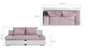 Canapea extensibila PLAY2