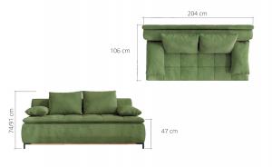 Canapea extensibila SWEET2