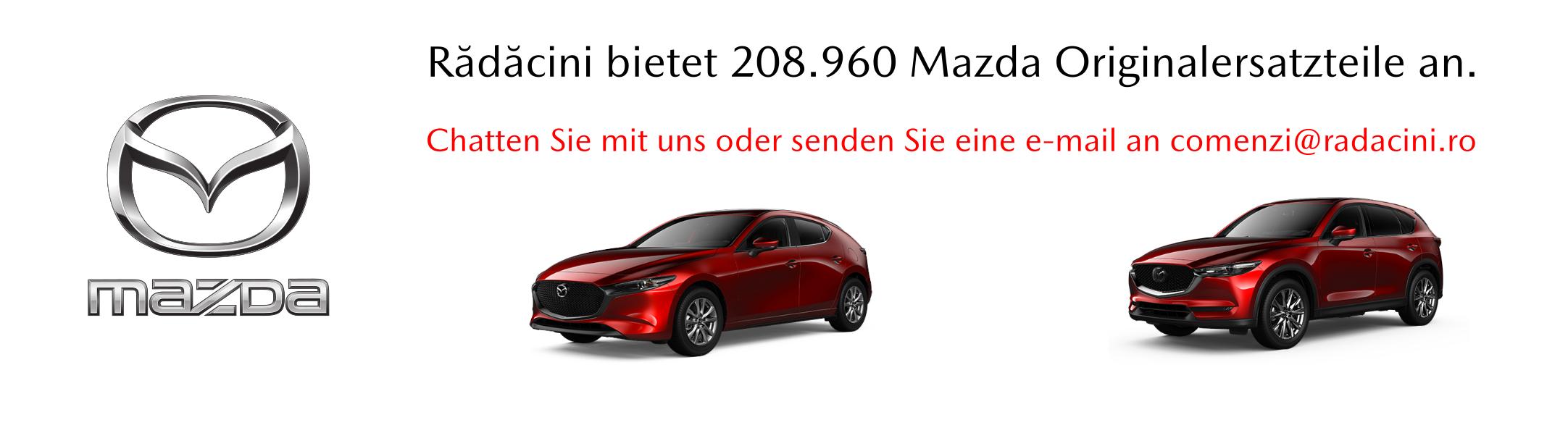 Originalersatzteile Mazda