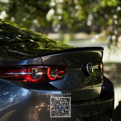 Eleron portbagaj pentru Mazda 3 BP model Sedan 0