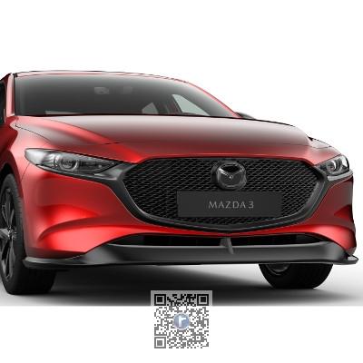 Extensiepentru bara fata - Mazda 3 BP 1