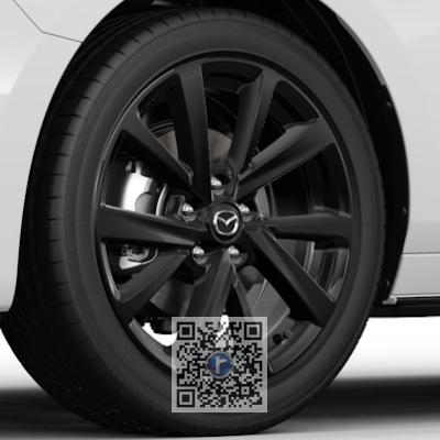 Janta de aliaj R18, design 72A BLACK GLOSSY, Mazda 3 BP 2018-prezent [1]