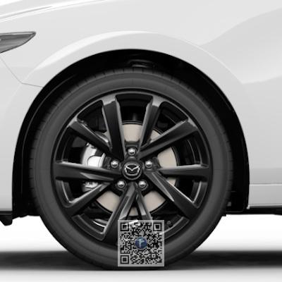 Janta de aliaj R18, design 72A BLACK GLOSSY, Mazda 3 BP 2018-prezent [0]