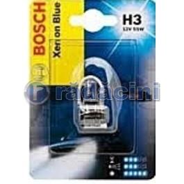 Bec 12V 55W H3 Xenon Blue 0