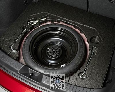 Kit roata rezerva slim Mazda 3 Sedan BP 17mm 1
