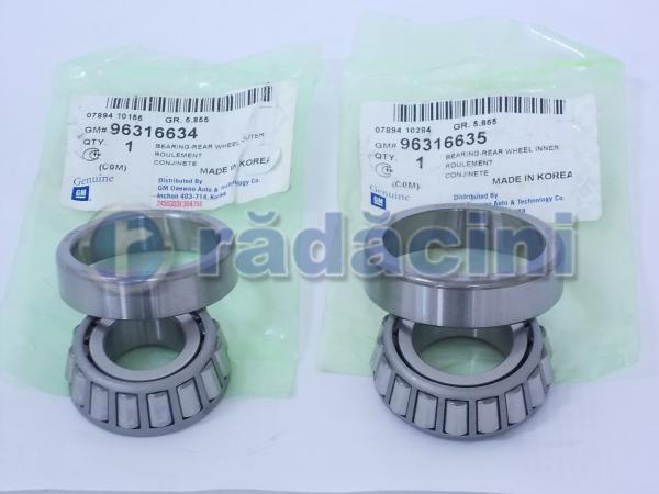 Rulment roata spate (ext) cod 96316634 2