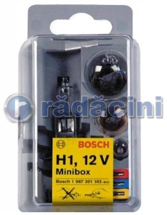 Set becuri minibox H1 0