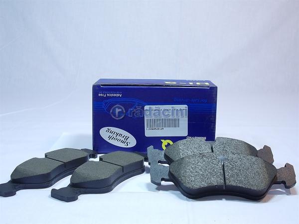 Set placute frana fata - producator HI-Q cod 11046952012 0