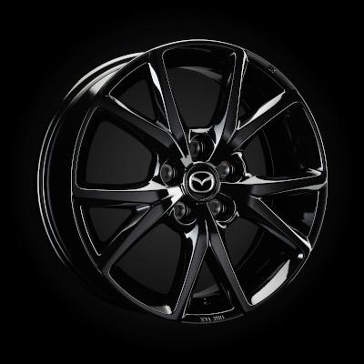 Set roti iarna R18 Glossy Black Michelin - Mazda 3 BP [1]