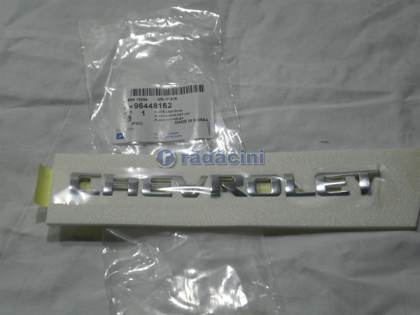 Sigla hayon Chevrolet  tehnologic cod 96448162 0