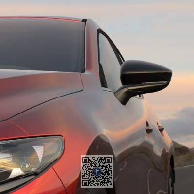 Set capace oglinzi retrovizoare - Mazda 3 BP0