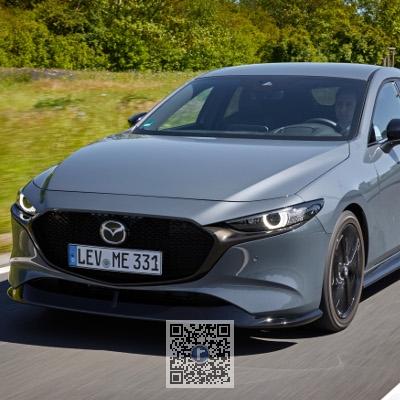 Extensie bara fata - Mazda 3 BP2