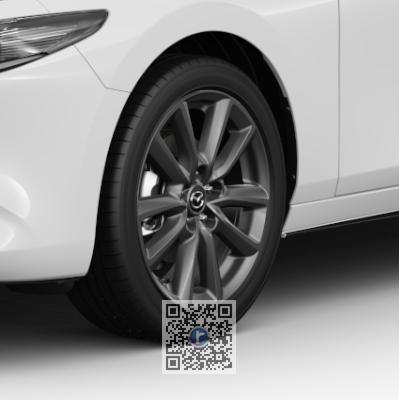 Janta de aliaj R18, design 168A GRI, Mazda 3 BP 2018-prezent [1]