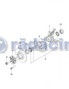 Rulment roata fata (set) cod 962855252