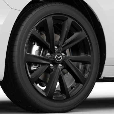 Set roti iarna R18 Black Glossy Nokian - Mazda 3 BP1